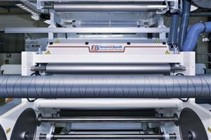Corona treatment in laminating process