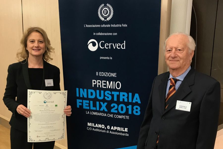 Felix Industry Award: Ferrarini & Benelli is the best small-sized enterprise of the province of Cremona
