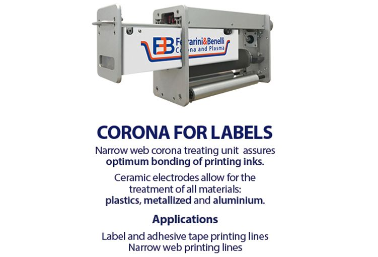 Corona for labels